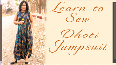 How to sew a Dhoti Jumpsuit