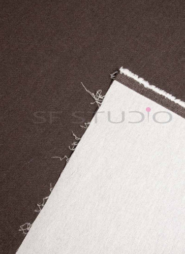 52 Inches Width Lycra Coffee woven Denim fabric [Unwashed]