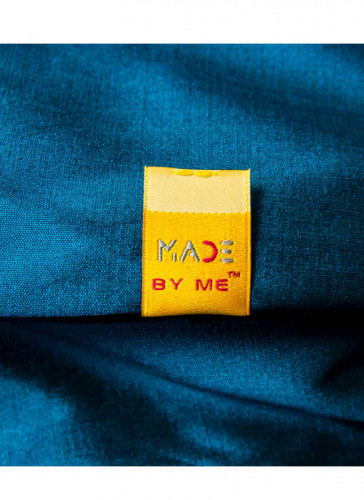 Made By Me™ - Flag woven Label Yellow - 5nos