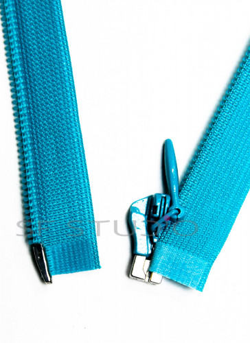 Imported YKK Open End Concealed Zipper 12 inches Blue 163