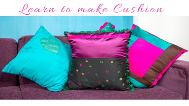 How to make easy ruffled cushion cover at home
