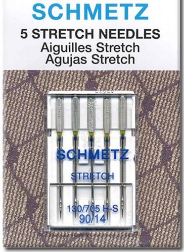 SCHMETZ Stretch Needle for Brother, Juki, Usha Janome, Singer