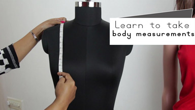 How to take body measurements for dress