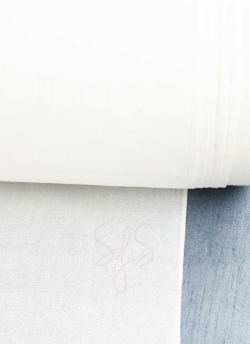 Woven Fusible Interfacing - 2mtr White
