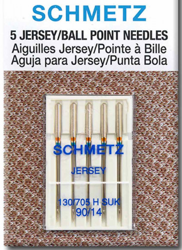 Ball Point (Jersey) Needles Size- 90/14