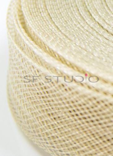Horsehair Braid Golden Beige 1 Inch width - 1mtr