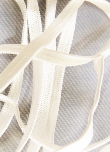 Elastic for Sewing Craft 4mm/super stretch/White - 25 mtrs