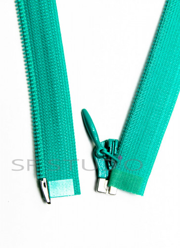 Imported YKK Open End Concealed Zipper 12 inches Green 825