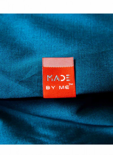 Made By Me™ - Flag woven Label Red - 5nos