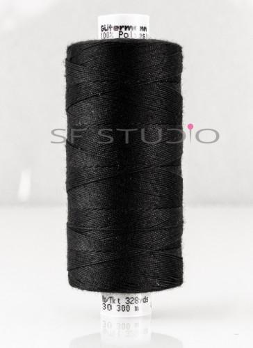 Black TKT 30 Denim sewing thread Gutermann - 000