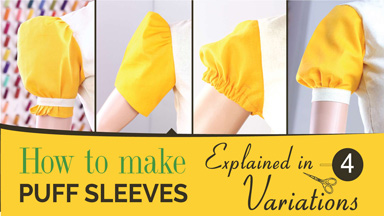 How to make Puff sleeves