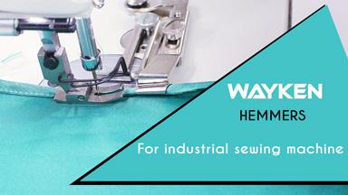 How to use Wayken Hemmer/ Hem Folder sewing machines