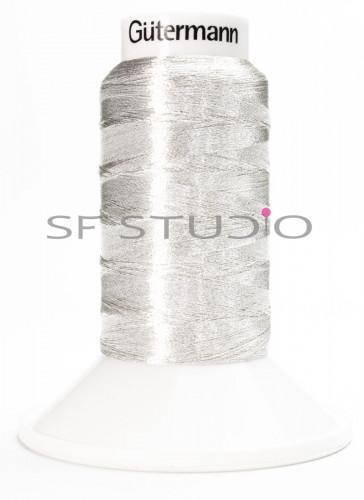 Premium Embroidery Threads Silver SLS 30 Gutermann