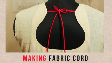 How to make Dori/Fabric cord