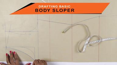 How to draft basic body sloper