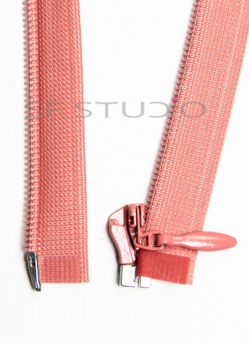 Imported YKK Open End Concealed Zipper 12 inches Peach 002