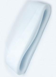 Horsehair Braid / Crinoline trim White 3 Inches - 1 mtr
