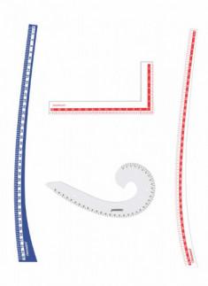 Kit 4 - Hip Curve, Lscale, Armhole curve & Leg curve scale