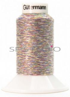 Lurex® 1000 mtrs Fine Twist Embroidery Thread Multi Colour
