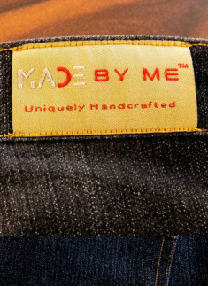 Made By Me™ - Jeans/Jacket woven Label 10nos