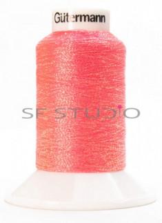 Lurex® 1000 mtrs Fine Twist Embroidery Thread Bright Orange