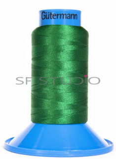 1000m Embroidery Super Brite thread Irish Green Guetermann