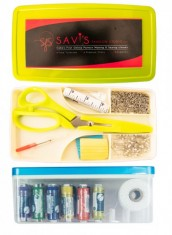 Sewing Kit 1 - Thread box with sewing accessories