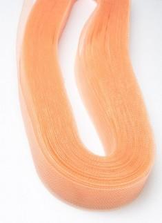 Horsehair Braid/Crinoline trim Orange 1 inch - 1 mtr