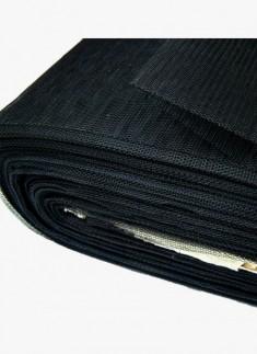 Can Can Net Black Medium Stiff- 1 mtr