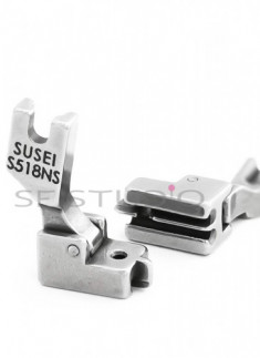 Invisible Zipper Foot S518NS for Industrial Sewing Machine